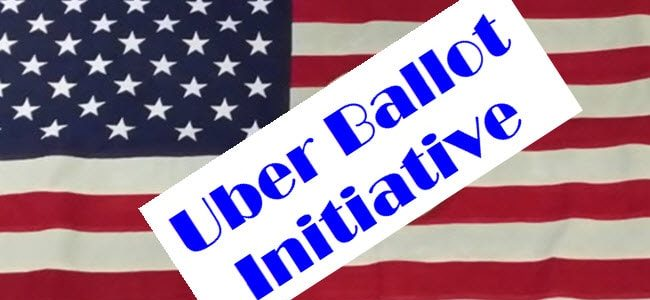 Uber Driver Employment Status and New Ballot Initiative